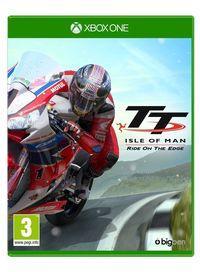 Portada oficial de TT Isle of Man - Ride on the Edge para Xbox One