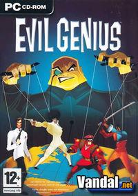 Portada oficial de Evil Genius para PC