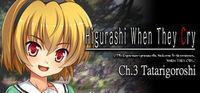 Portada oficial de Higurashi When They Cry: Chapter 3 - Tatarigoroshi para PC