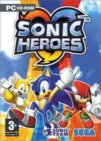 Portada oficial de Sonic Heroes para PC