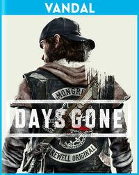 Portada oficial de Days Gone para PS4
