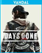 Portada oficial de de Days Gone para PS4