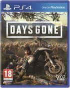 Portada oficial de de Days Gone para PS4