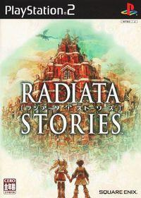 Portada oficial de Radiata Stories para PS2