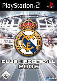 Portada oficial de Real Madrid Club Football 2005 para PS2