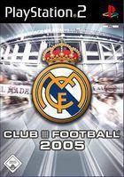 Portada oficial de de Real Madrid Club Football 2005 para PS2