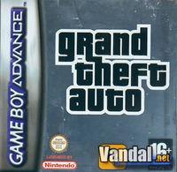 Portada oficial de Grand Theft Auto para Game Boy Advance