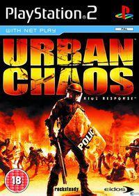 Portada oficial de Urban Chaos para PS2