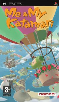 Portada oficial de Me & My Katamari para PSP