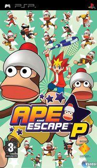 Portada oficial de Ape Escape P para PSP