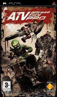 Portada oficial de ATV Offroad Fury para PSP