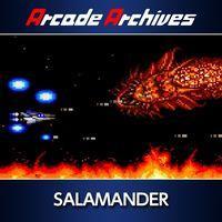 Portada oficial de Arcade Archives SALAMANDER para PS4