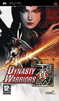 Portada oficial de Dynasty Warriors para PSP