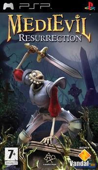Portada oficial de MediEvil Resurrection para PSP