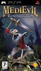 Portada oficial de de MediEvil Resurrection para PSP