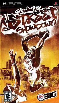 Portada oficial de NBA Street Showdown para PSP