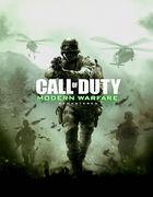 Portada oficial de de Call of Duty: Modern Warfare Remastered para PS4