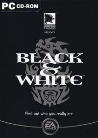 Portada oficial de Black & White para PC