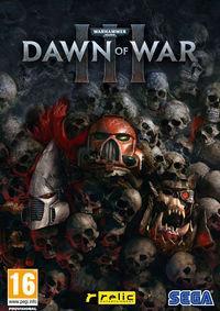 Portada oficial de Warhammer 40.000: Dawn of War III para PC