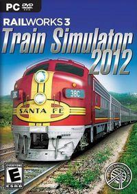 Portada oficial de Railworks 3: Train Simulator 2012 para PC