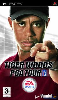 Portada oficial de Tiger Woods PGA Tour para PSP