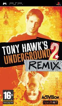 Portada oficial de Tony Hawk Underground 2: Remix para PSP