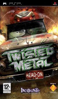 Portada oficial de Twisted Metal Head On para PSP