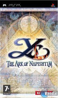Portada oficial de Ys: The Ark of Napishtim para PSP