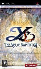 Portada oficial de de Ys: The Ark of Napishtim para PSP