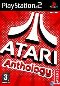 Portada oficial de Atari Anthology para PS2