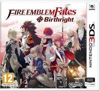 Portada oficial de Fire Emblem Fates:  Estirpe para Nintendo 3DS