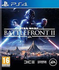 Portada oficial de Star Wars Battlefront II para PS4