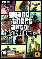 Portada oficial de de Grand Theft Auto: San Andreas para PC