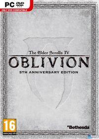 Portada oficial de The Elder Scrolls IV: Oblivion para PC
