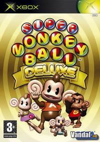 Portada oficial de Super Monkey Ball Deluxe para Xbox