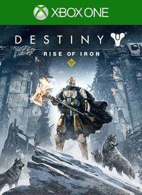 Portada oficial de Destiny: Los Señores de Hierro para Xbox One