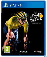 Portada oficial de Le Tour de France 2016 para PS4