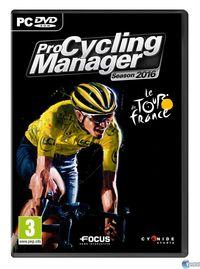 Portada oficial de Pro Cycling Manager 2016 para PC