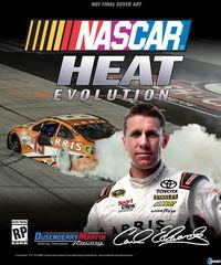 Portada oficial de NASCAR Heat Evolution para PS4