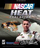 Portada oficial de de NASCAR Heat Evolution para PS4
