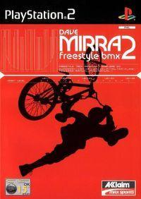 Portada oficial de Dave Mirra Freestyle BMX 2 para PS2