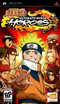 Portada oficial de Naruto: Ultimate Ninja Heroes para PSP