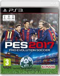Portada oficial de Pro Evolution Soccer 2017 para PS3