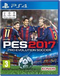 Portada oficial de Pro Evolution Soccer 2017 para PS4