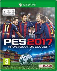 Portada oficial de Pro Evolution Soccer 2017 para Xbox One