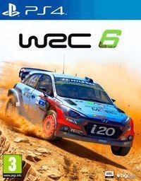 Portada oficial de WRC 6 para PS4