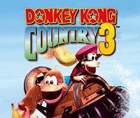 Portada oficial de Donkey Kong Country 3: Dixie Kong's Double Trouble CV para Nintendo 3DS