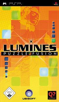 Portada oficial de Lumines para PSP
