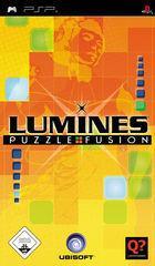 Portada oficial de de Lumines para PSP