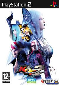Portada oficial de King of Fighters: Maximum Impact 2 para PS2